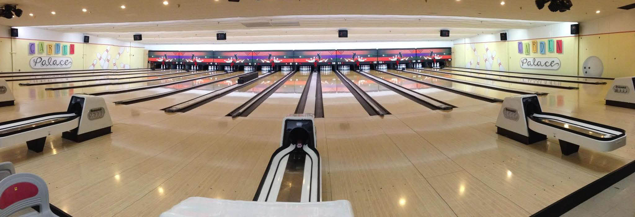 Garden Palace Lanes Bowling Alley