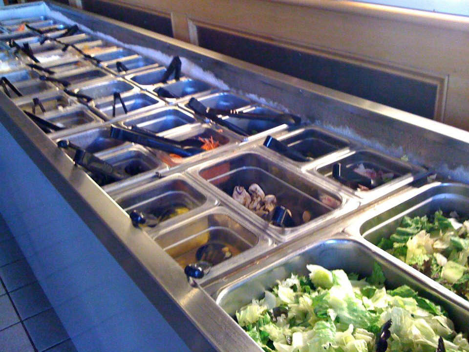 At Garlex in Danville we offer a 40 Item Salad Bar.