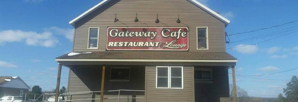 Exterior of Gateway Café Restaurant & Lounge in DuBois banner