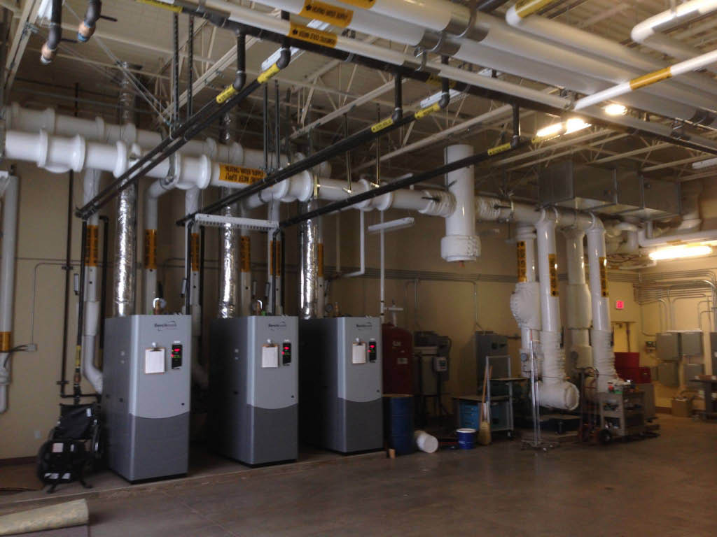 Commercial HVAC systems installation