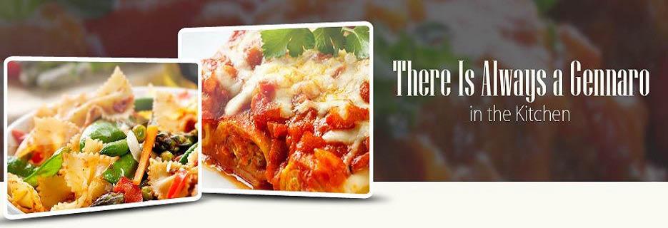 Gennaro's Italian Ristorante Banner ad