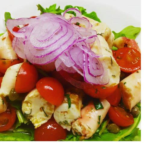 George Inn Salad from The George Inn in Vernon NJ