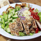 salads; grilled chicken;