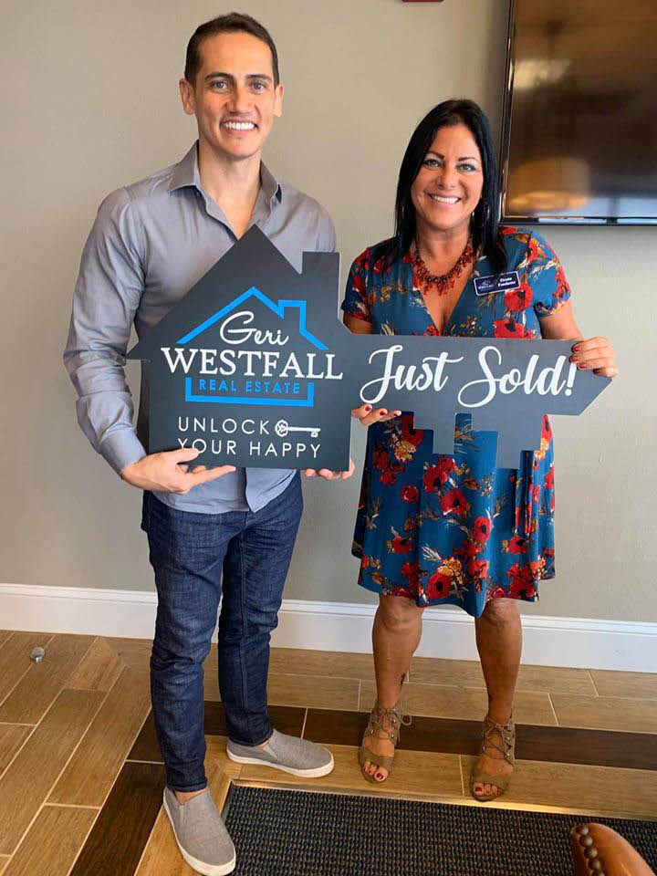 couple just sold first home