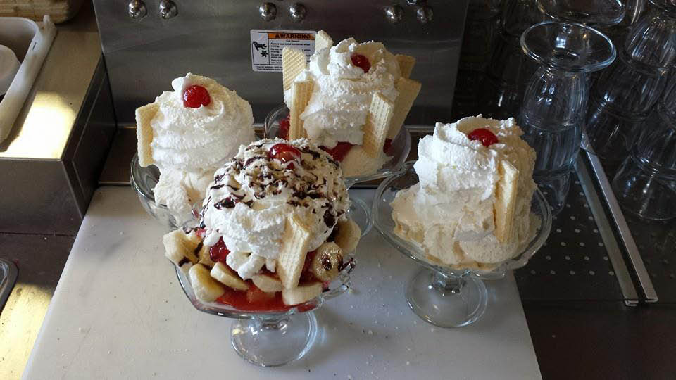 Gertie's Ice Cream Sundaes taste great any time of year