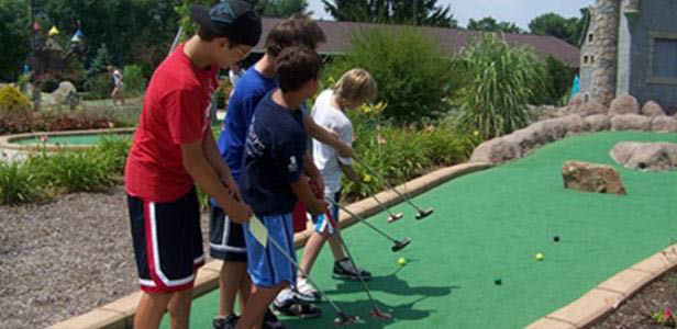 magic castle miniature golf dayton ohio