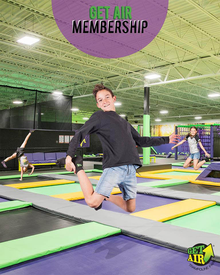 Ask us about a Get Air membership