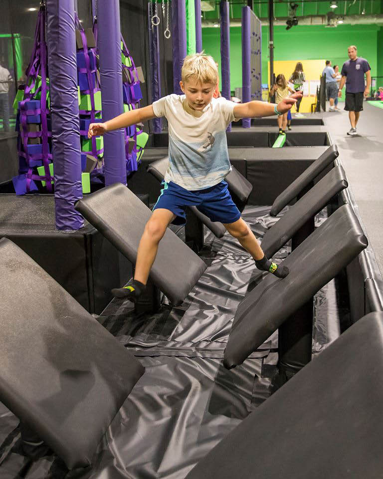 Kids increase agility, skill and confidence while having fun