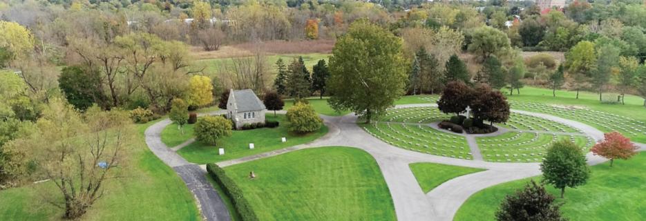 Gethsemane Cemetery in Williamsville, NYbanner