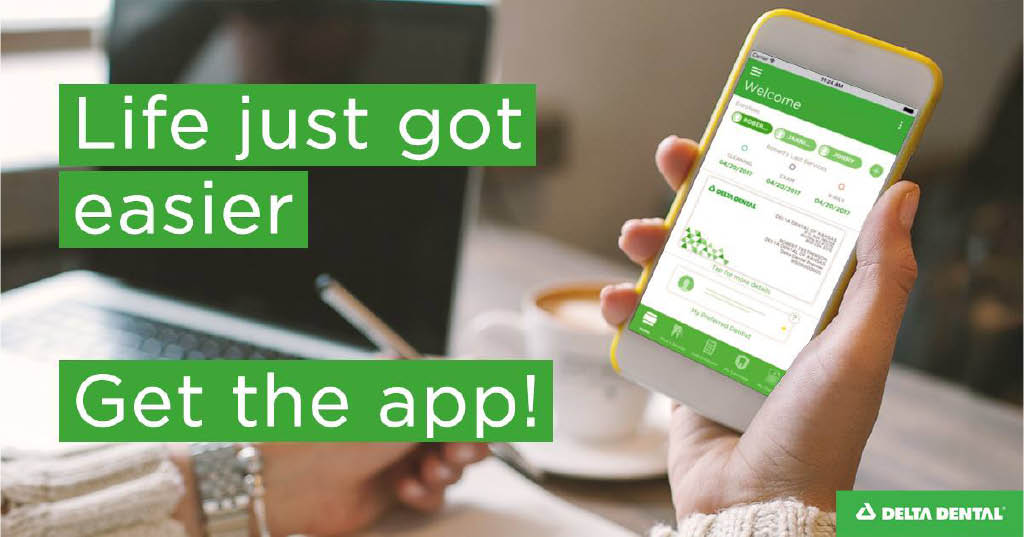 Check your benefits, schedule an appointment, get an ID card, and more, all on the go from the #DeltaDental mobile app! Get it here: http://bit.ly/2QBh1Qd