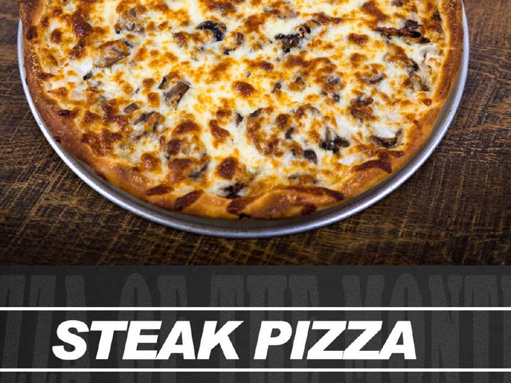 Gionino's Pizzeria steak pizza