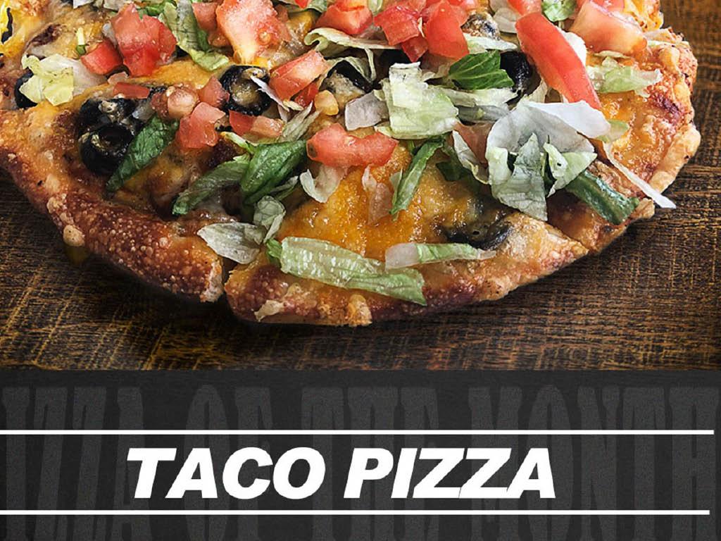 Gionino's Pizzeria taco pizza