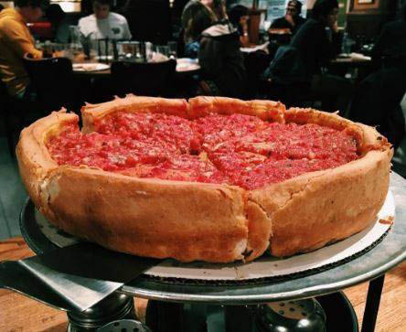 Chicago pizza near Buffalo Grove