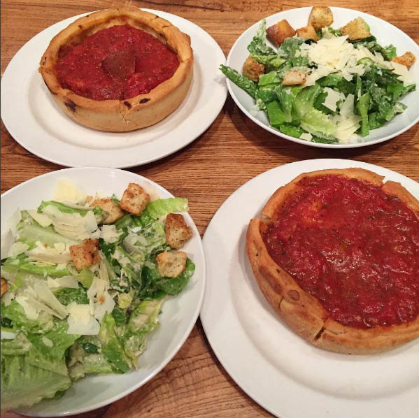 Chicago pizzas, restaurant coupons for Algonquin