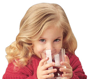 little girl drinking water; Drinking water; home water filtration; water purifier, Kinetico by AAA Water System, Concord, CA