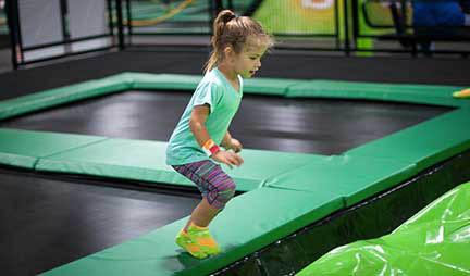 summer fun for families and kids at ROCKIN' JUMP in Smyrna, GA.