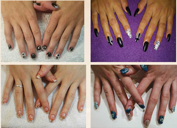 hairstylist for less  nail care glam nail coupons save money at Davina