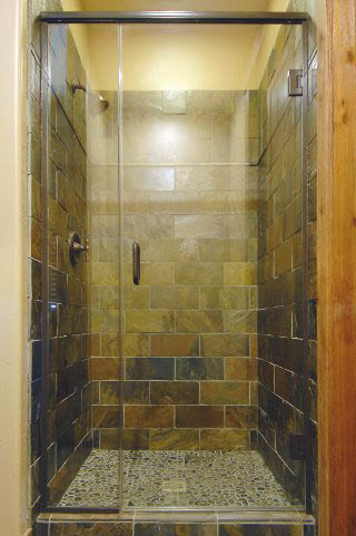 Glass shower door replacement near Sandy Springs