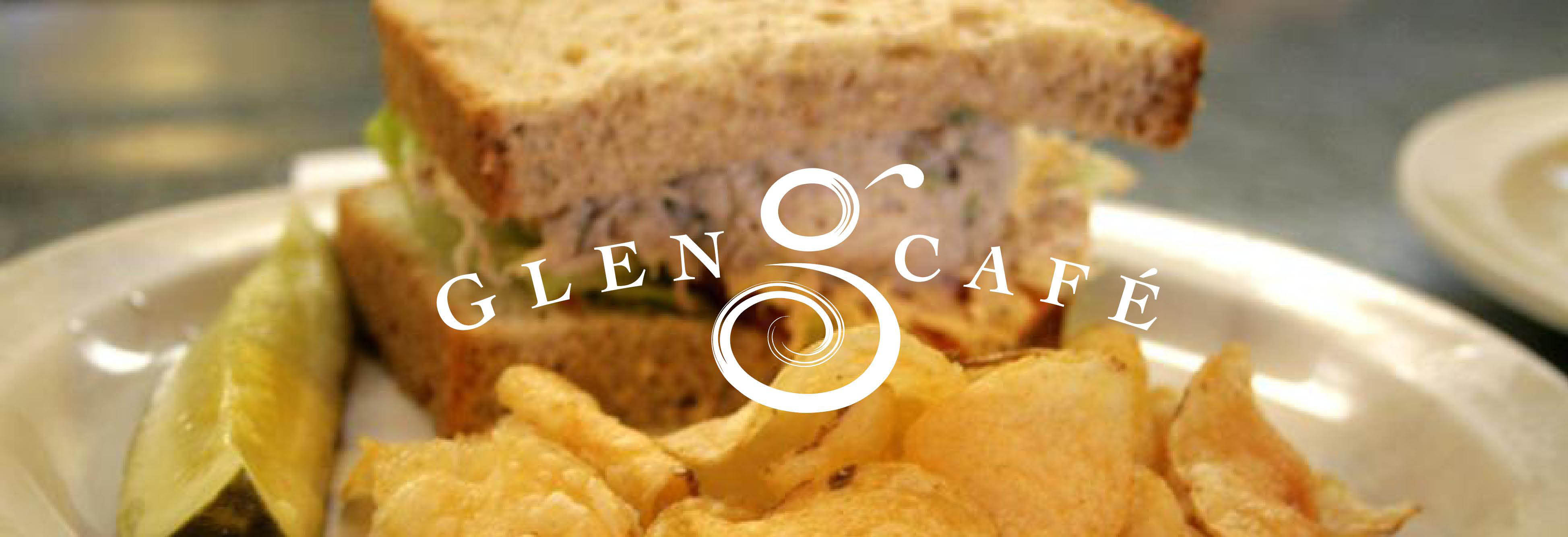 The Glen Cafe Logo in Glendale Wisconsin breakfast, Lunch, dinner