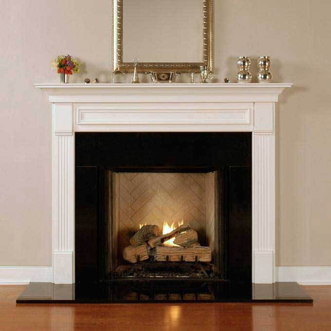 Another great spot for Marble, Granite or Slate is at your Fireplace surround. Stone is heat retentive & also looks great.