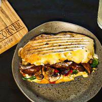 Portabella Swiss Panini sandwich