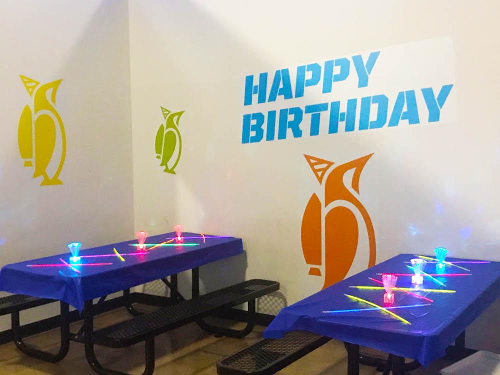 kids birthday parties, indoor trampoline park, jump time, dodgeball, rock climbing,