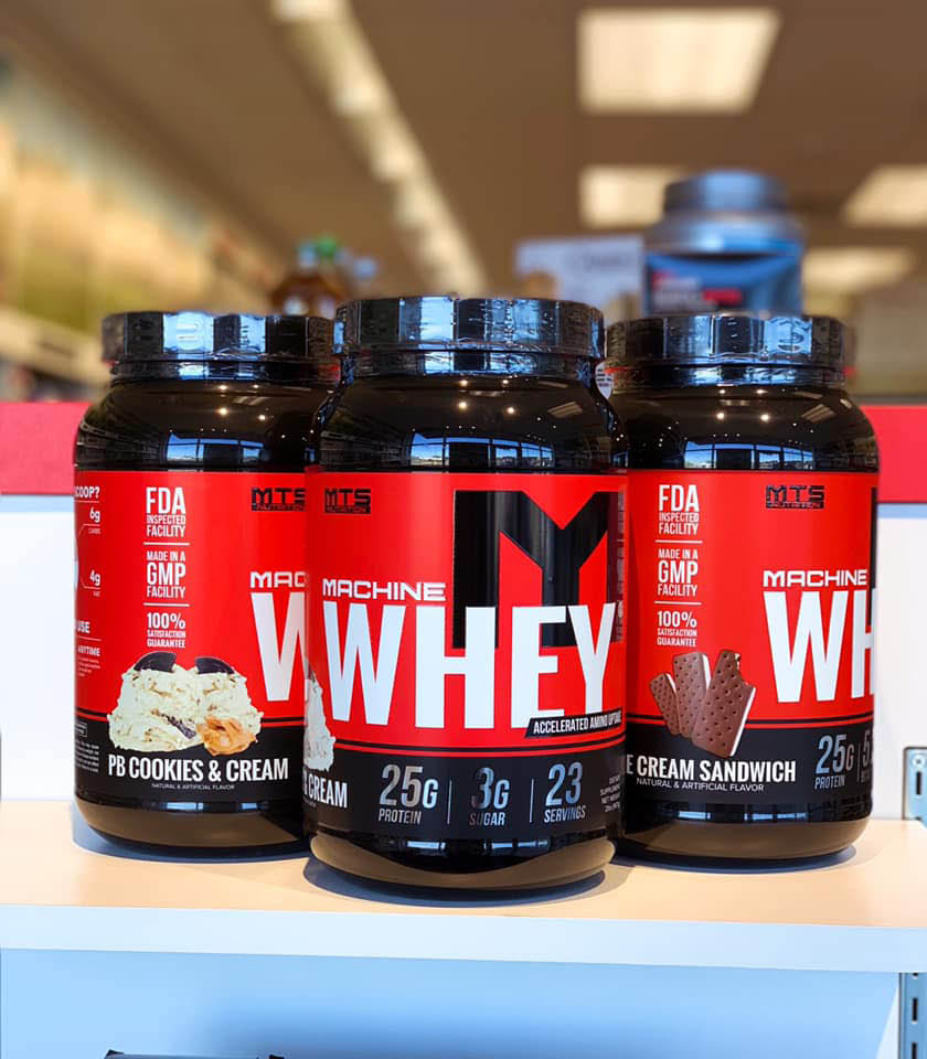 Whey protein to supplement your workout routine