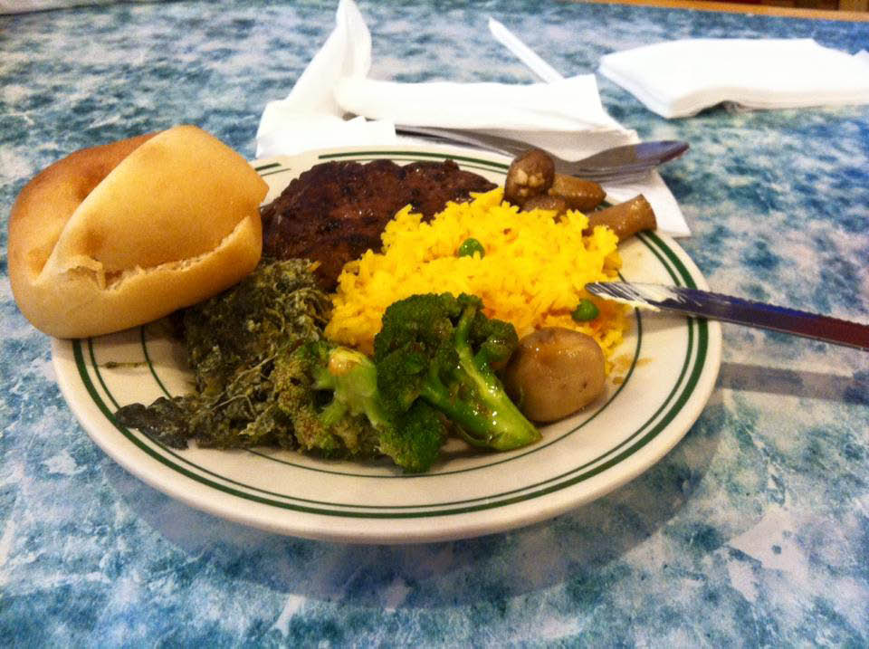 Load your plate at the Golden China Buffet near Wide Awake, SC
