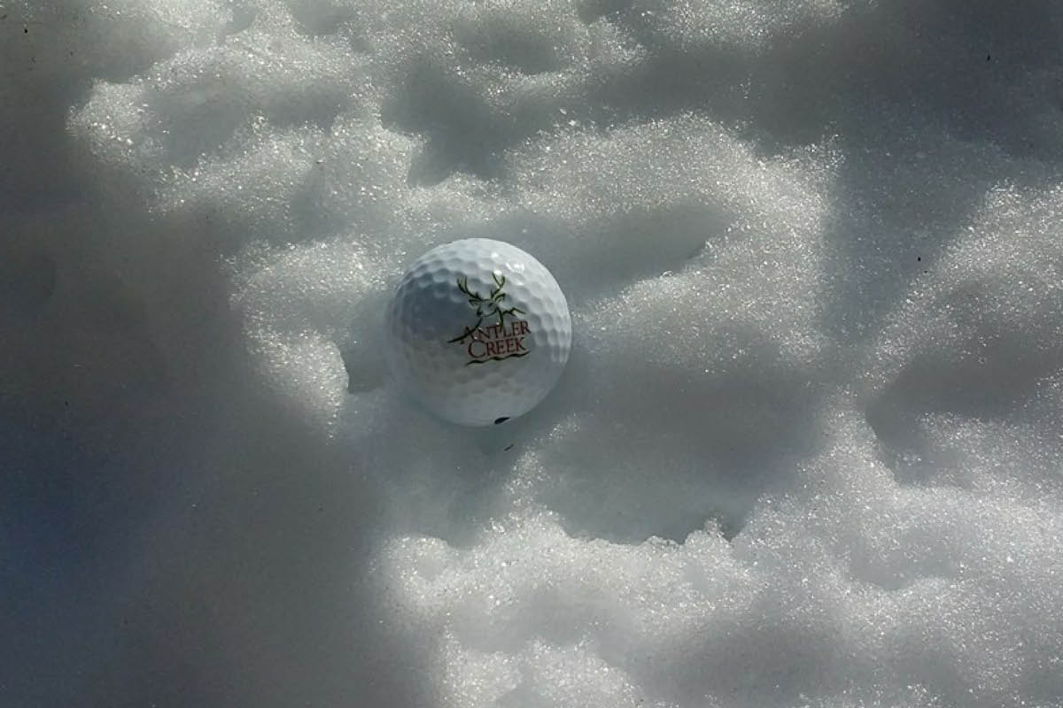 Antler Creek Custom Golf Ball
