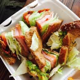 Goody's Cafe Club Sandwich