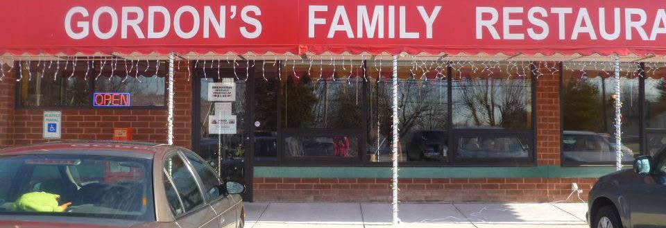 Gordon's Restaurant in Harrisburg, PA banner ad