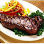 Pictured is a steak at Gordon's Family Restaurant in Harrisburg, PA.