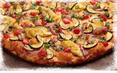 Round Table Pizza Gourmet Veggie
