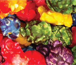 confetti popcorn from Grandpa's Popcorn in North Richland Hills, TX