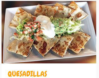 Everyone's Mexican favorite - Quesadillas