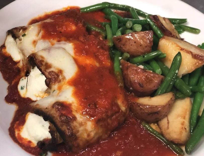 eggplant, italian food, dinner, take-out