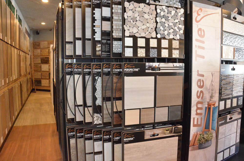 Wide selection of tile flooring supplies near Fruitvale