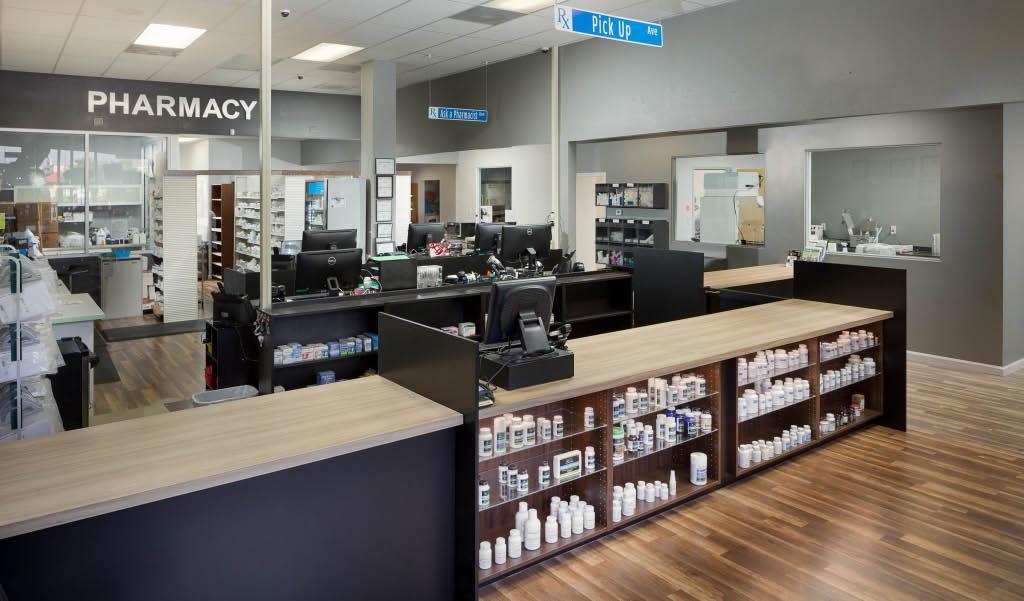 pharmacy, apothecary, dispensary, drug store, pharmacopoeia,