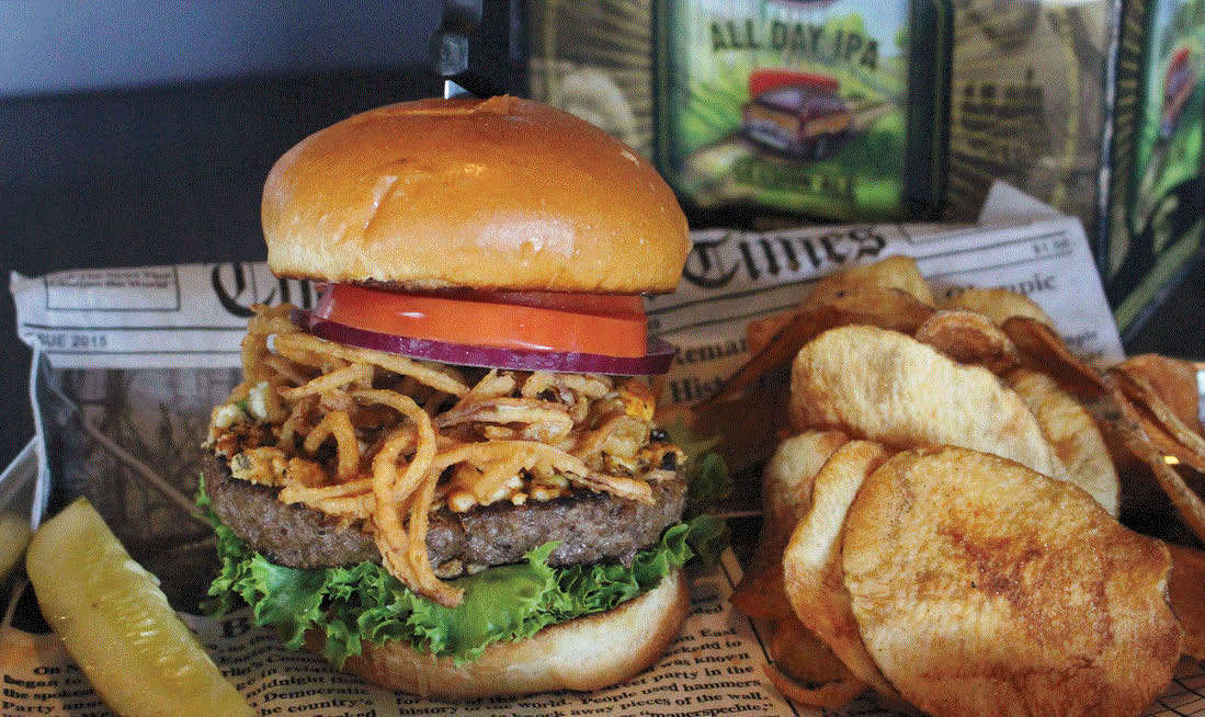 Photo of Burger and Fries at Grand Tavern in Livonia, MI