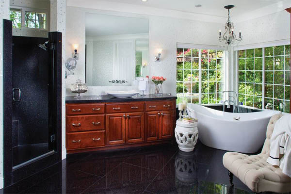 Granite Transformations Kitchens and Baths bathroom of your dreams.