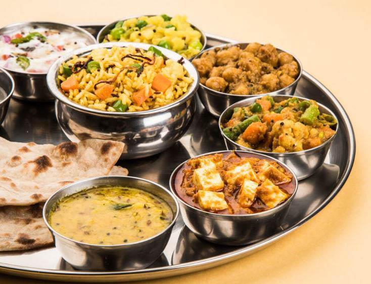 Indian food restaurant; coupons; sampler platter