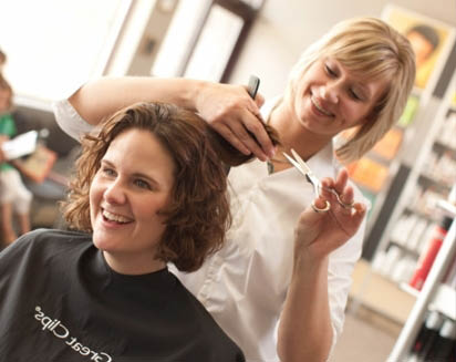 Work with your hair stylist and communicate what type of haircut you'd like
