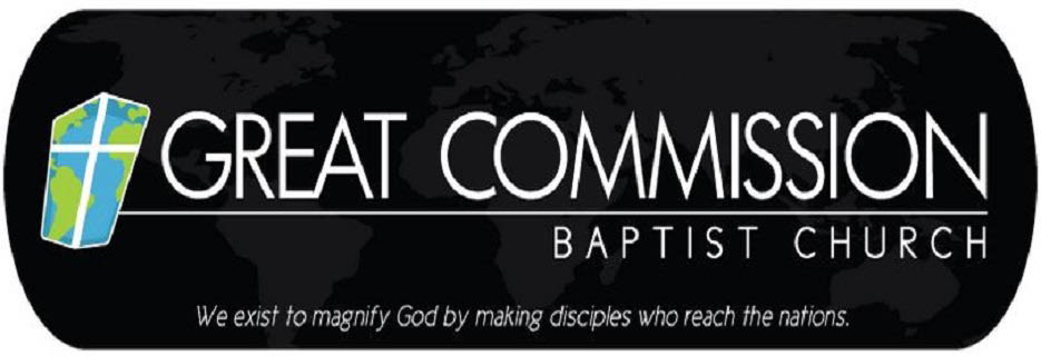 Great Commission Baptist Church in Summerville, SC banner ad