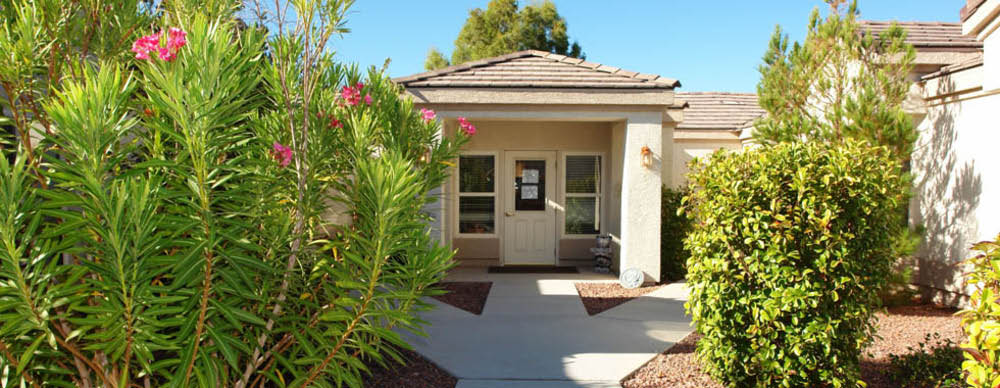 Pacifica Senior Living Green Valley assisted living facility entrance in Henderson, NV