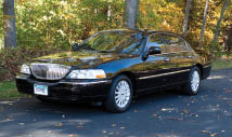 Order a limousine in Fairfield County.