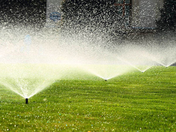 The Grounds Guys of Shawnee can professionally install and maintain your irrigation system
