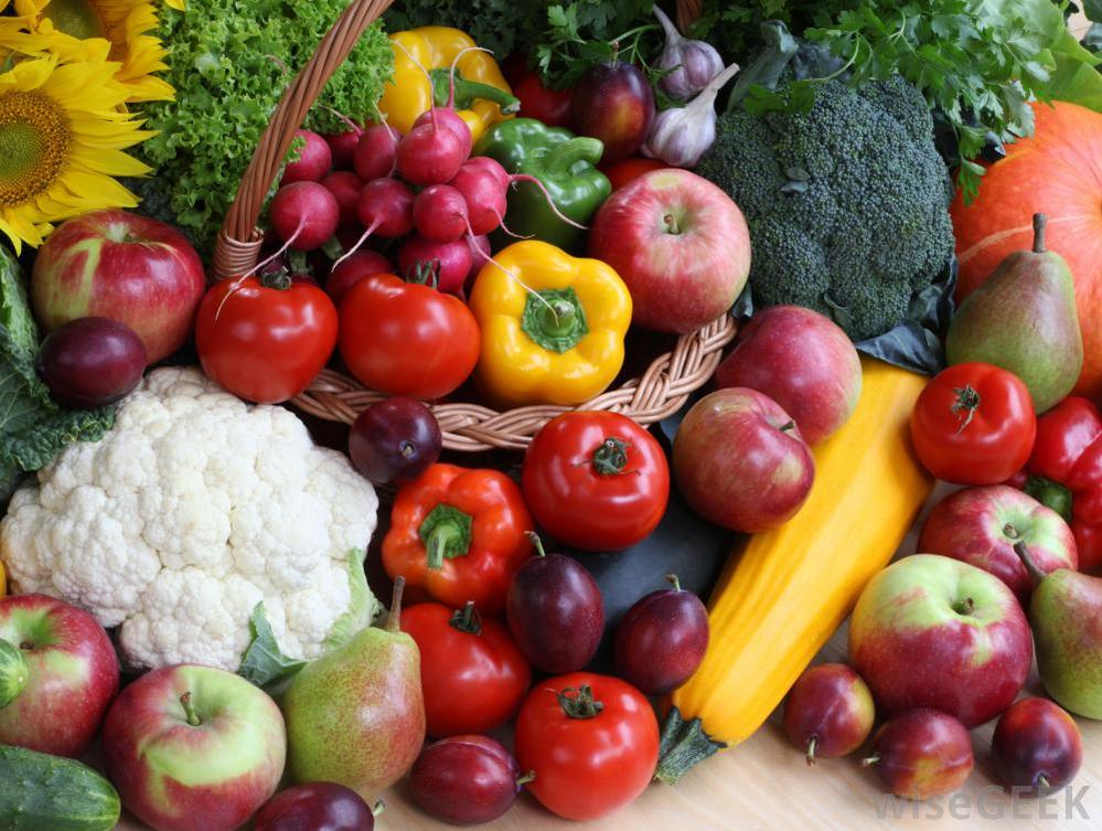 Healthful organic produce at Harvest Natural Foods in Atascadero, CA