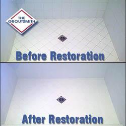 before after tile restoration