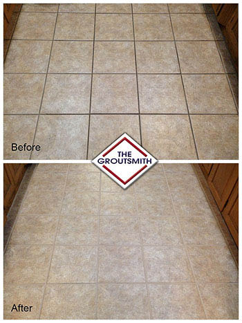 before after re-grouting