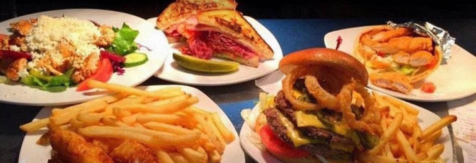 Extensive food options at Grubhouse Restaurant in Warren, MI
